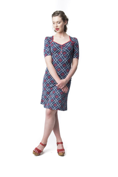 Dress Lola Viola Navy