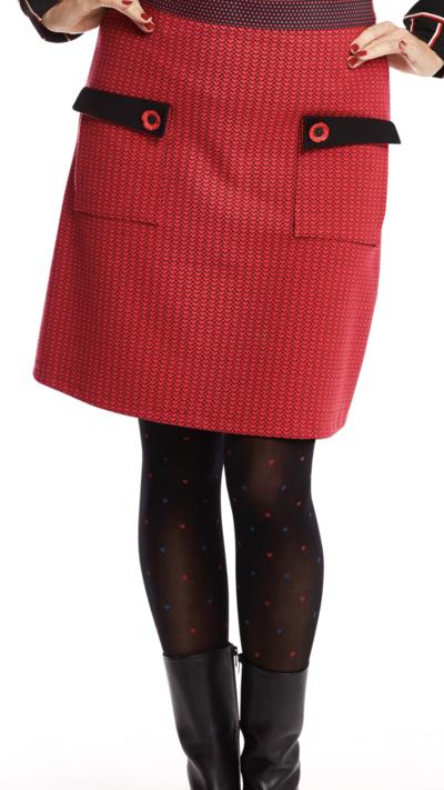 Redheart Skirt