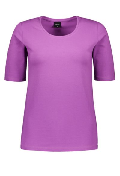Basic T-shirt Organic Cotton Lila