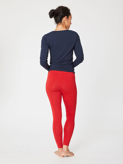 Bambu leggings Poppy Red