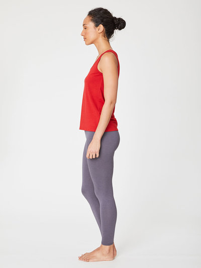 Bamboo Base Singlets Poppy Red