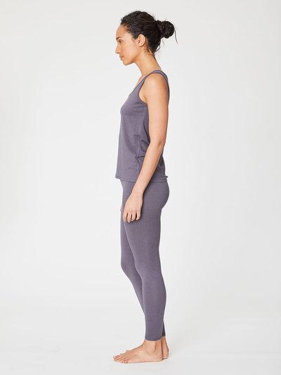 Bamboo Base Singlets Slate Grey