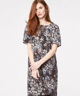 Blooms Floral Print Tencel Dress