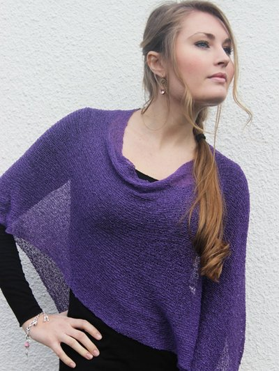 Ella liten cape purple