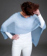 Ella small cape light blue
