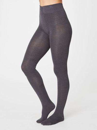 Phoebe Strumpbyxor Bambu Slate Grey