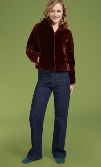 Judy Jacket Zoot Brique Red