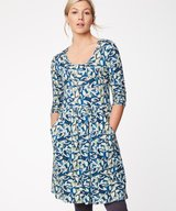 Charleston Dress River Blue
