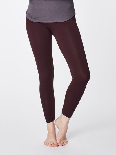Bambu Leggings Aubergine