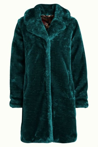 Alba Coat Oasis Dragonfly Green