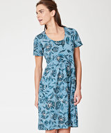 Passiflora Relaxed Dress with pockets