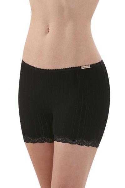 Fair Trade Panty Långa Ben Black