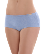 Fair Trade Panty Long Blue Melange