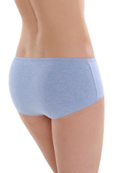 Fair Trade Panty Blue-Melange