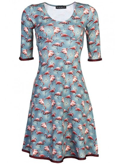 Stella Dress Flamingo