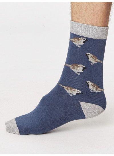 Bamboo Socks Fåglar Ocean