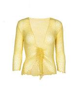 Kofta/Bolero Light Yellow